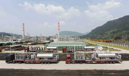 四川油田-气体泄漏监控系统工程案例